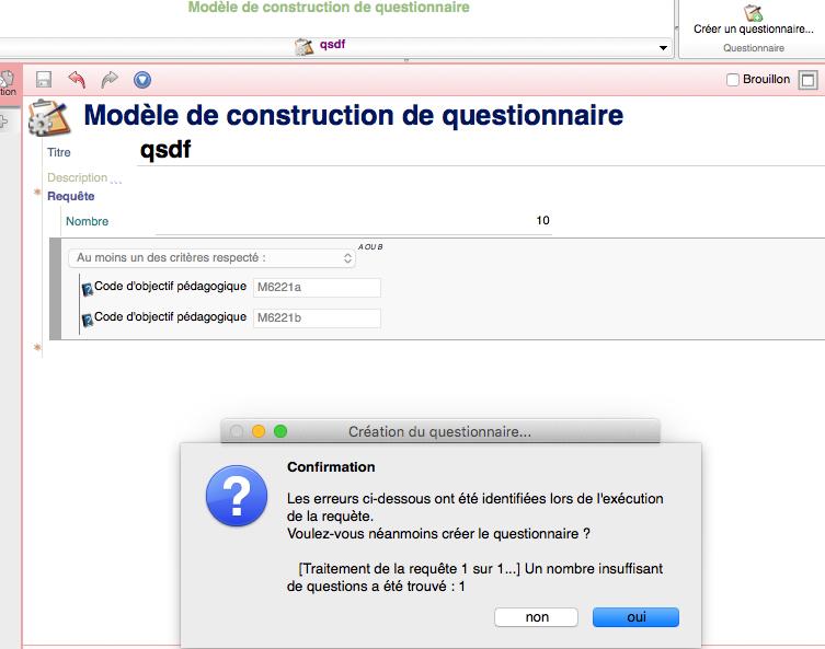 Creation De Questionnaire A Partir De Modele De Questionnaire Quetzal Forums Communaute Scenari