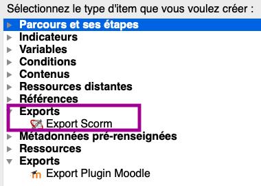 ExportSCORMtopaze